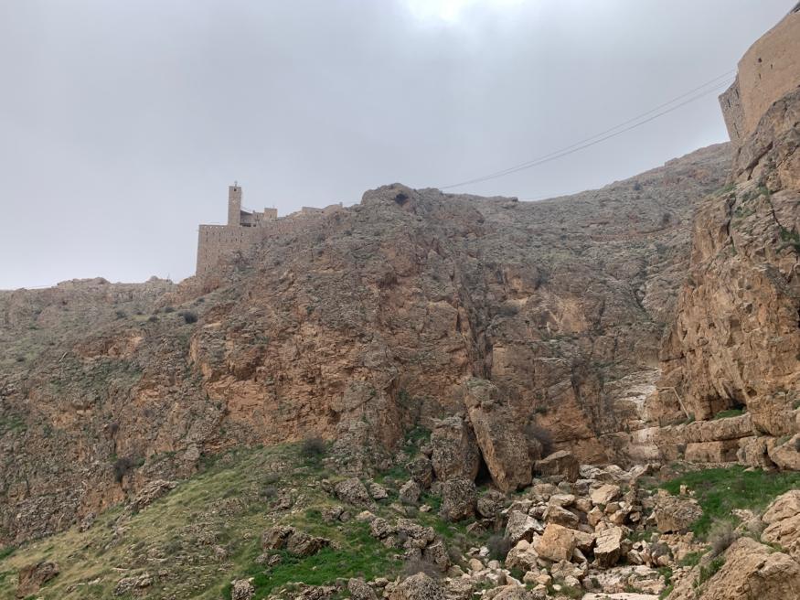 Le monastère en confinement