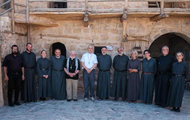 Le père Jihad a été élu prieur du monastère